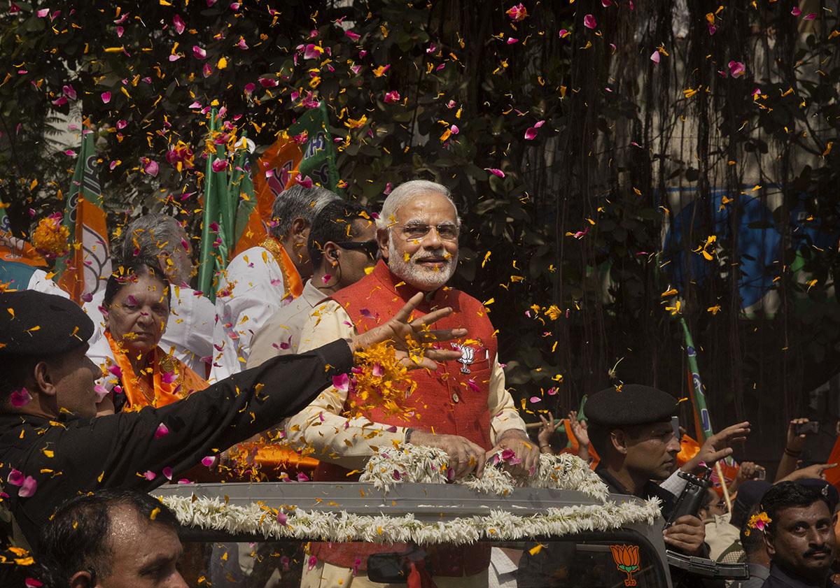 El supremacismo hindú: Narendra Modi