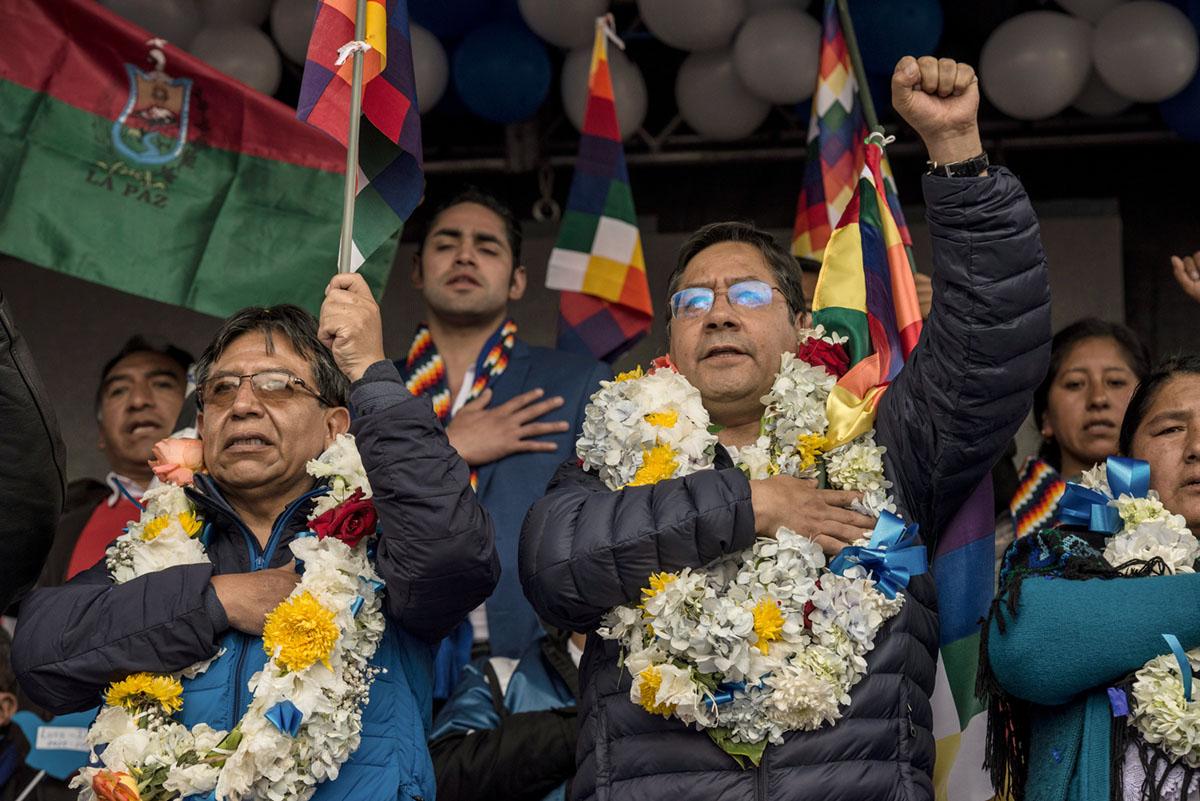 Golpe electoral en Bolivia