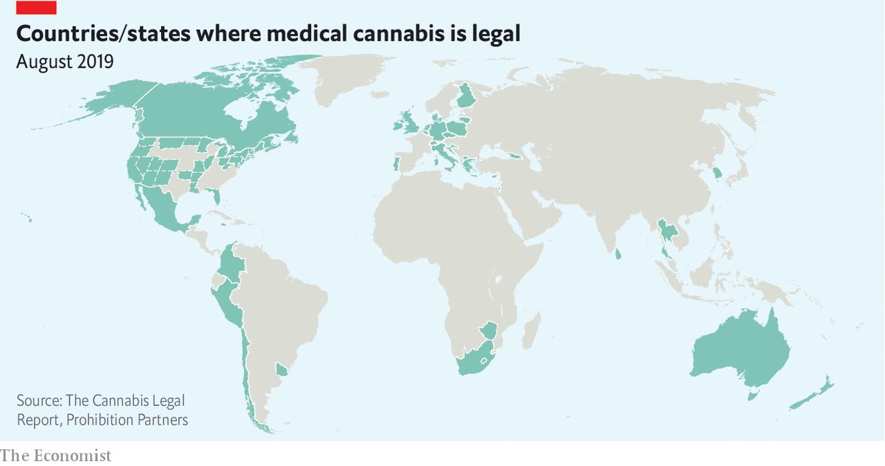 Marihuana: países donde es legal el consumo para uso médico