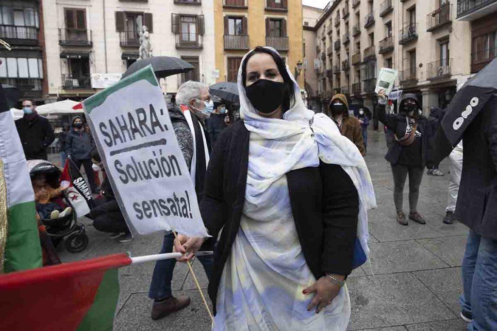protest-madrid-free-sahara