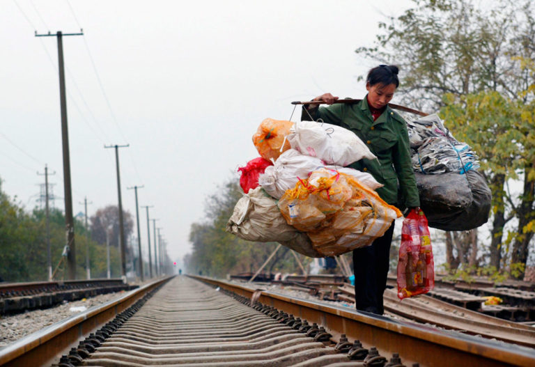 China pobreza extrema