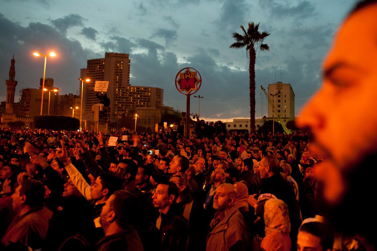 Año 2011: el Nilo se tiñe de sangre