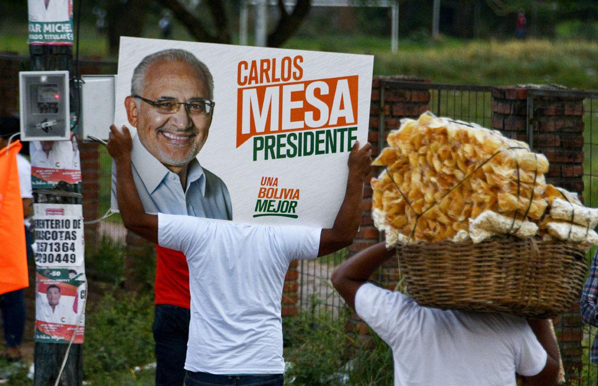 Bolivia ante el reto de la transición política