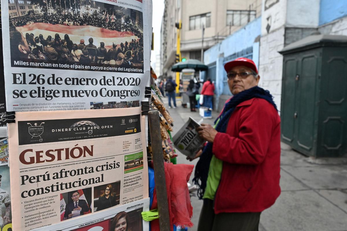 En Perú la política se enreda aún más