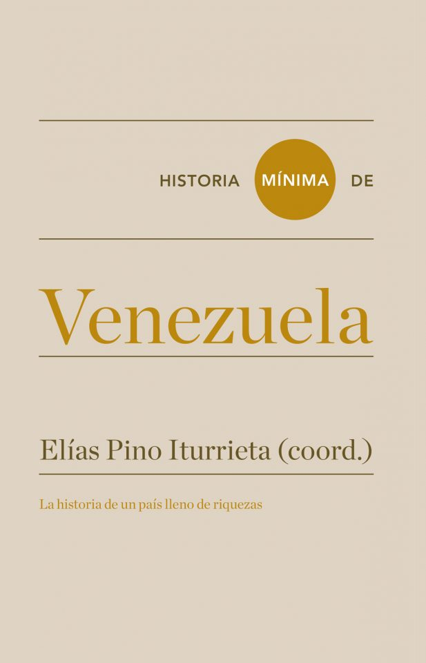 Resultado de imagen para historia minima de venezuela elias pino ines quintero manuel donis