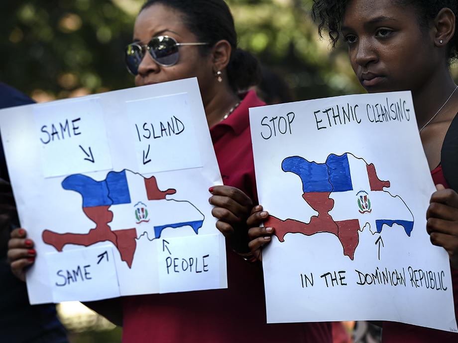 """Si Santo Domingo no está llevando a cabo una """"limpieza étnica"""", es, principalmente porque el término es demasiado difuso como para encajar con sus acciones."""