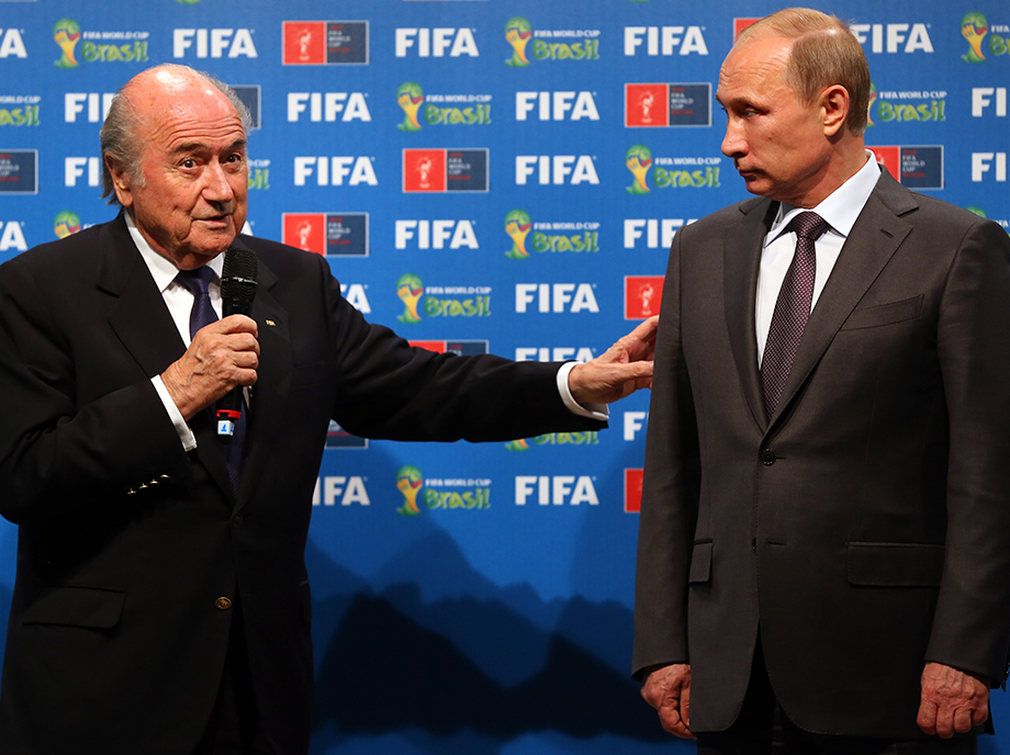 Vidas paralelas: la FIFA de Sepp Blatter y la Rusia de Vladímir Putin