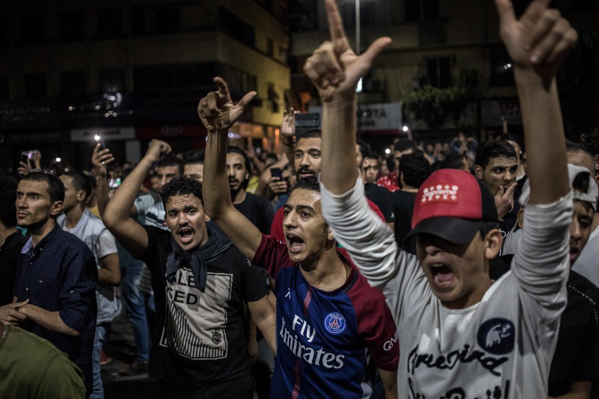 Agenda Exterior: protestas en Egipto
