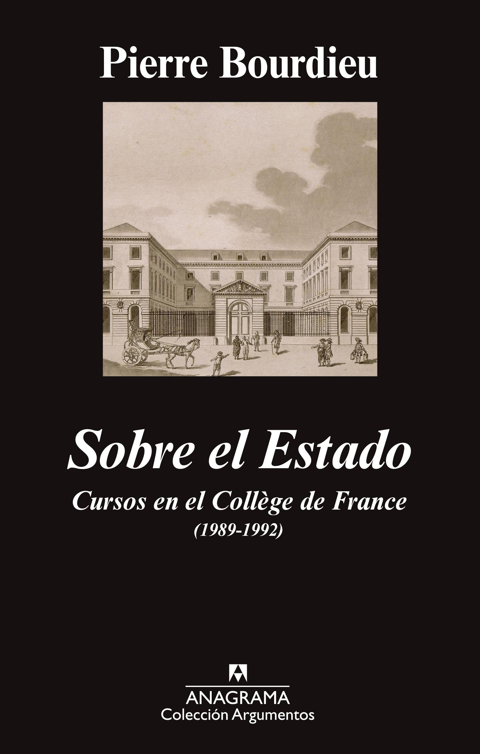 Sobre el Estado de Pierre Bourdieu
