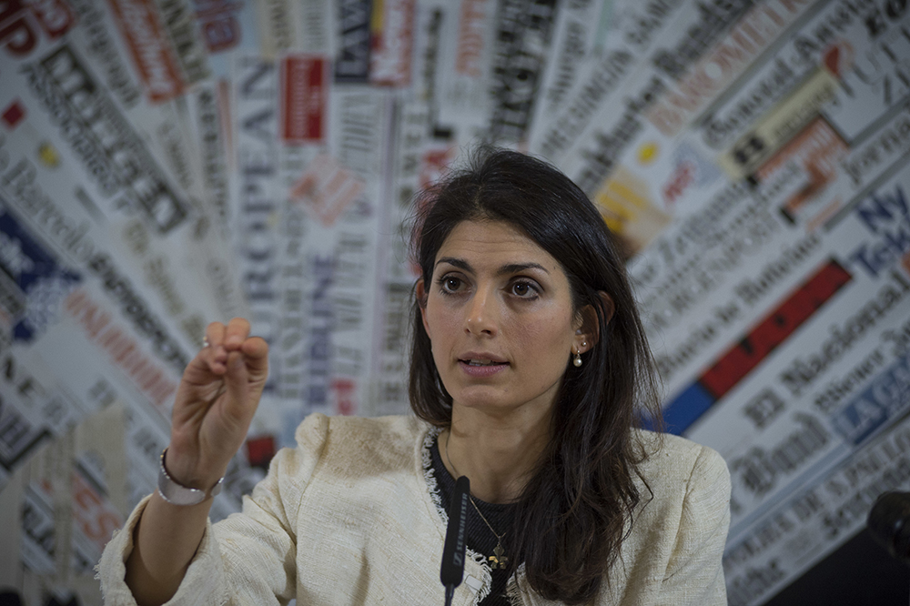 Virginia Raggi, candidate for mayor of Rome.