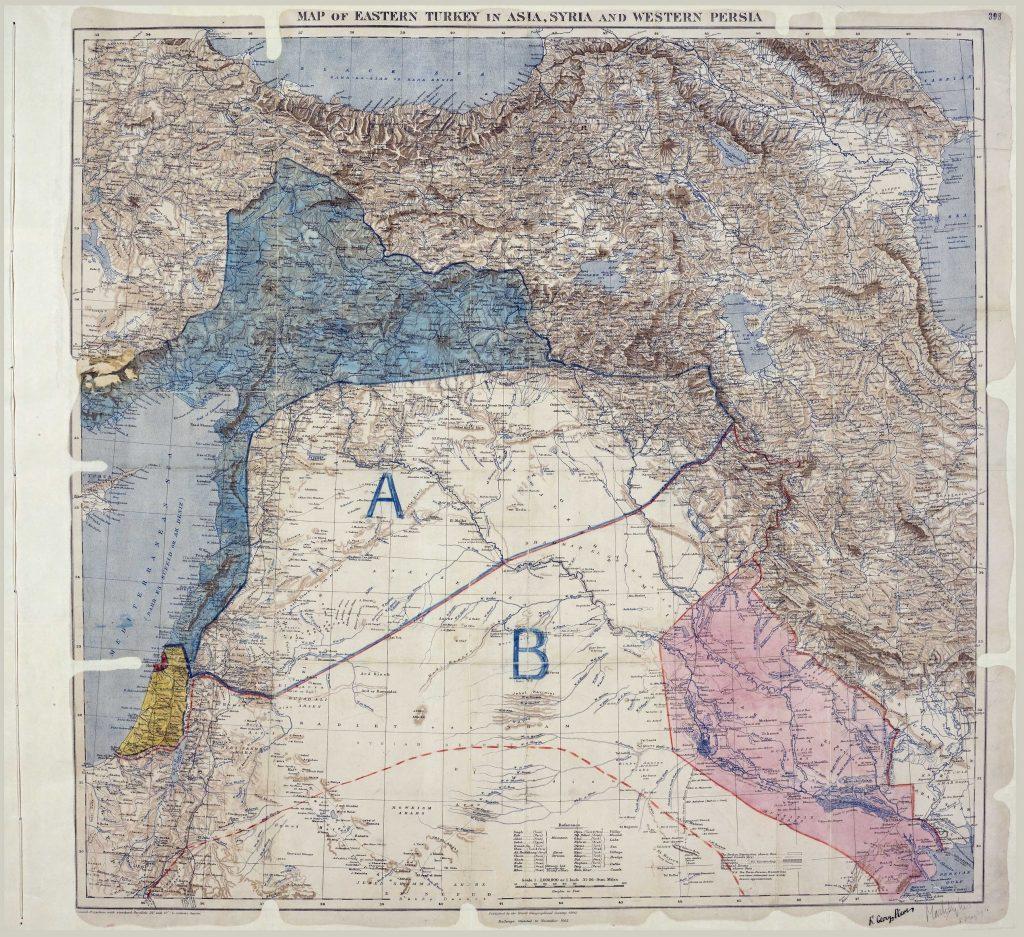 Acuerdo Sykes-Picot