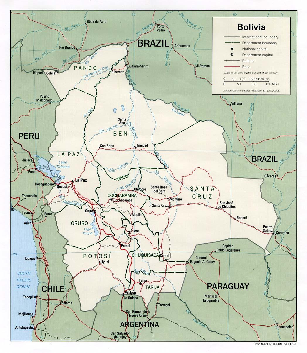 bolivia_mapa politico