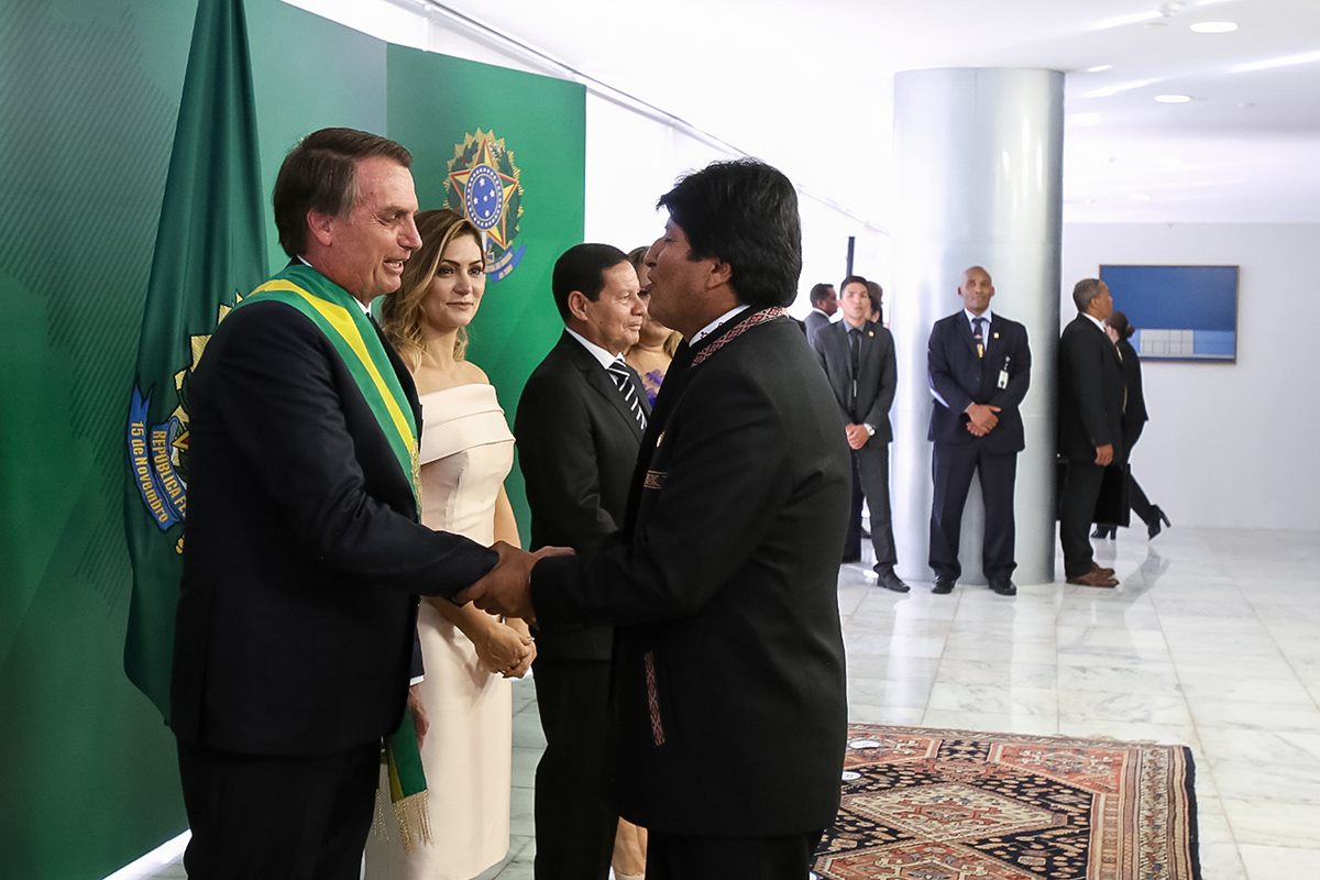 Malas compañías: Morales y el dilema Bolsonaro