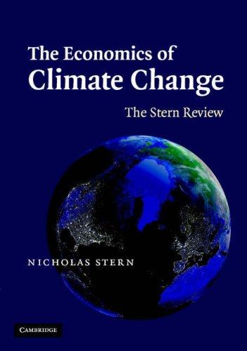 La economía del cambio climático: el informe Stern
