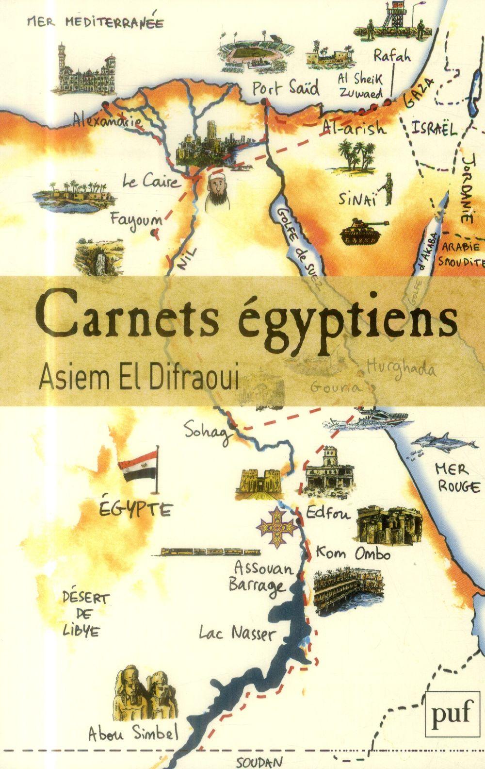 Carnets égyptiens, de Abdelasiem el Difraoui