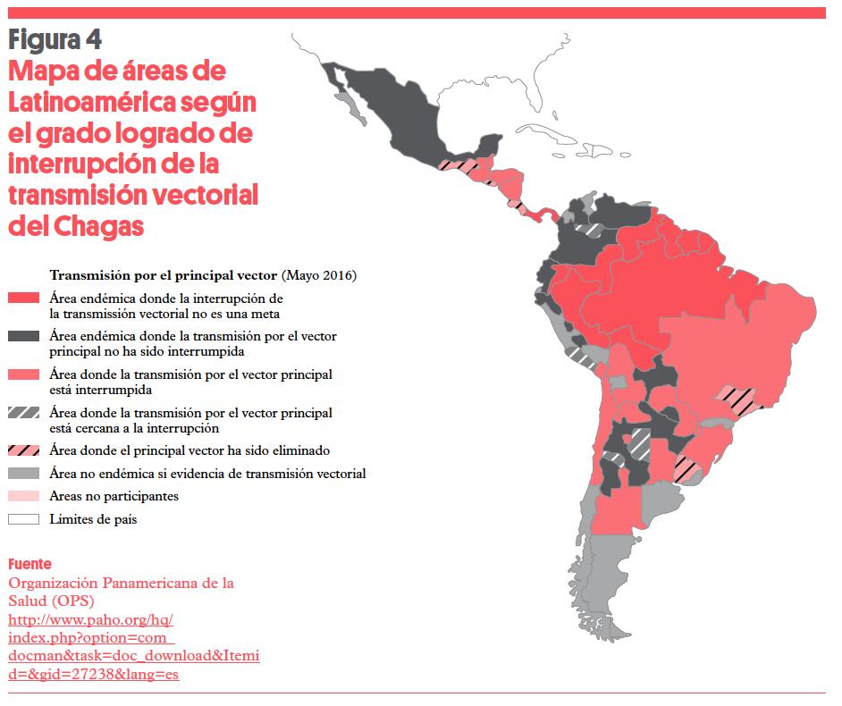 mal de chagas zonas endemicas en argentina