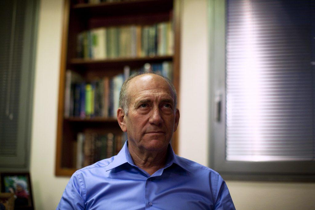 ehud olmert_alfombra roja
