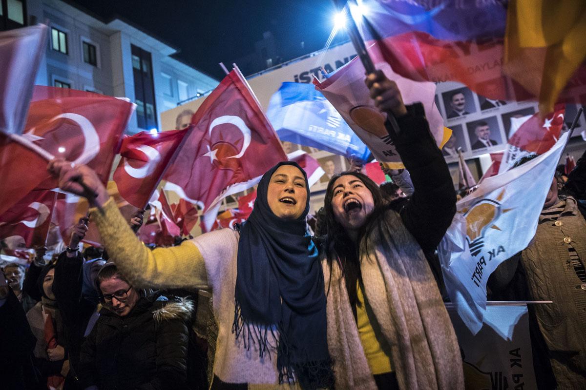 Miedos de primavera en Turquía