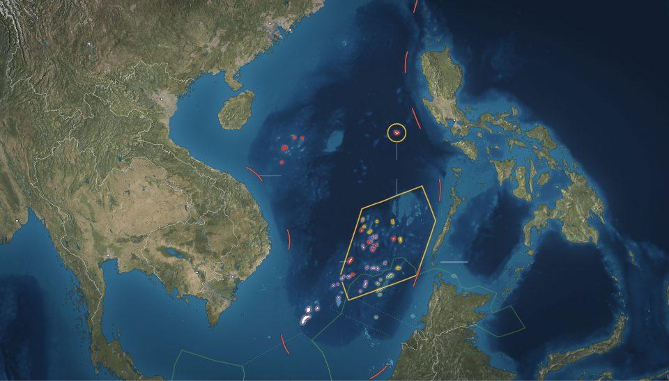islas mar sur china
