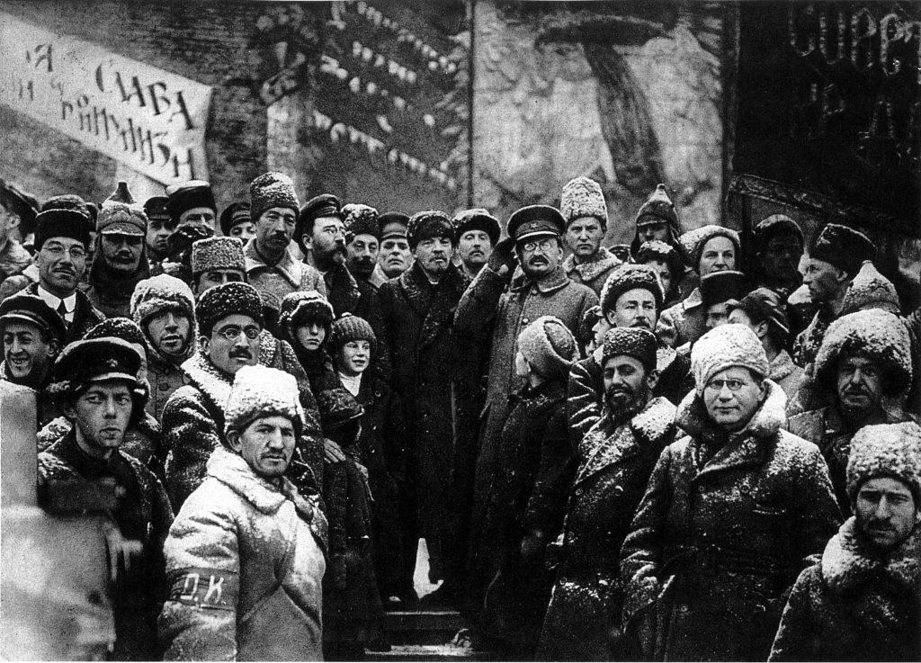 Lenin y Trotsky