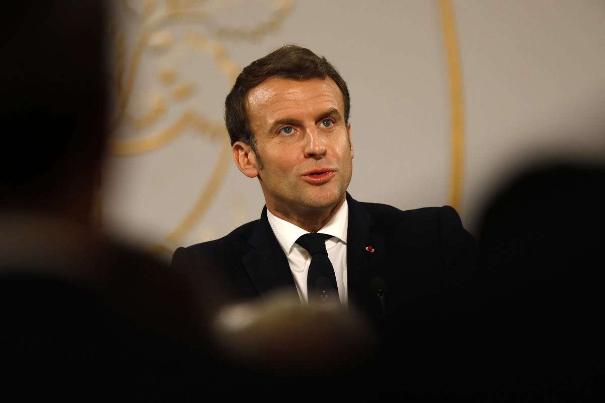 Los tropiezos europeos de Macron