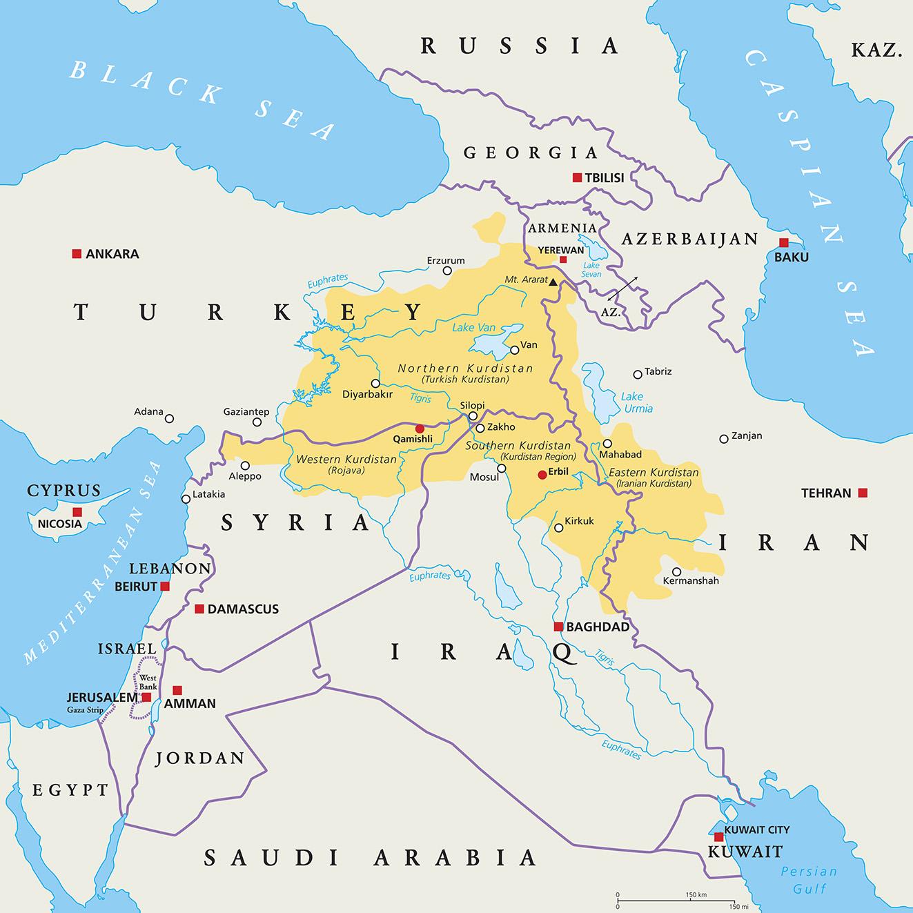 Kurdos avientan papas a tropas estadounidenses tras retirada de Siria