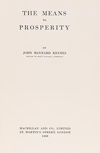 means to prosperity little