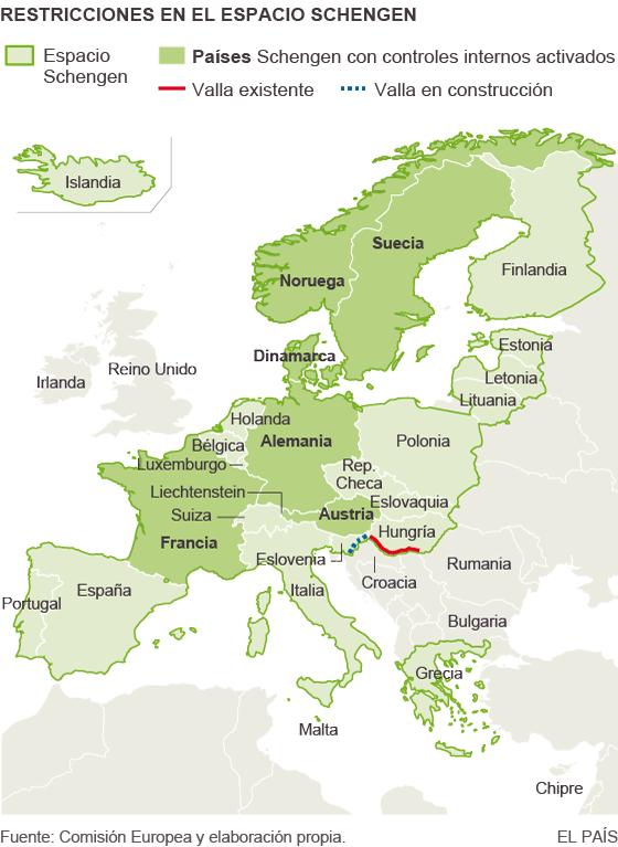 Schengen, a prueba