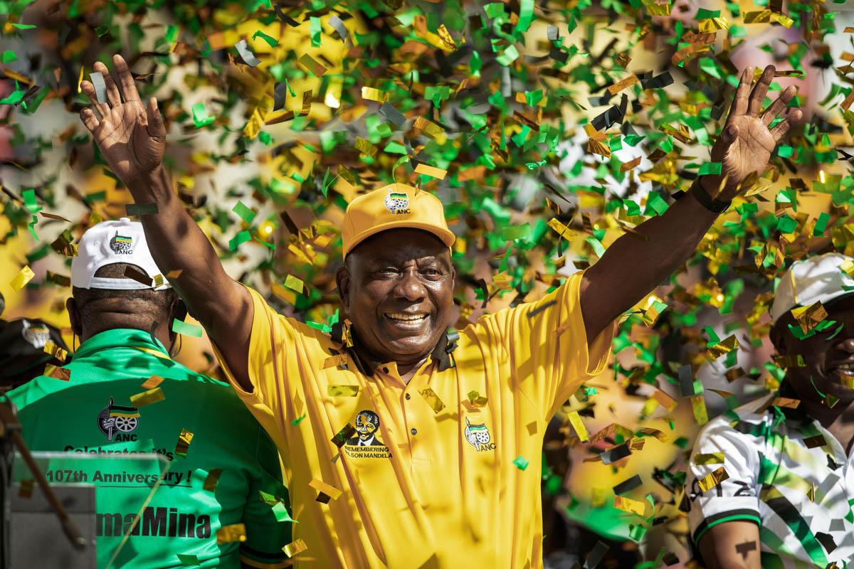 Suráfrica: victoria agridulce del Congreso Nacional Africano