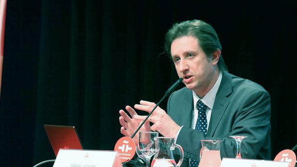 Daniel Ventre, fotografía de Céline Gesret (La Vanguardia)