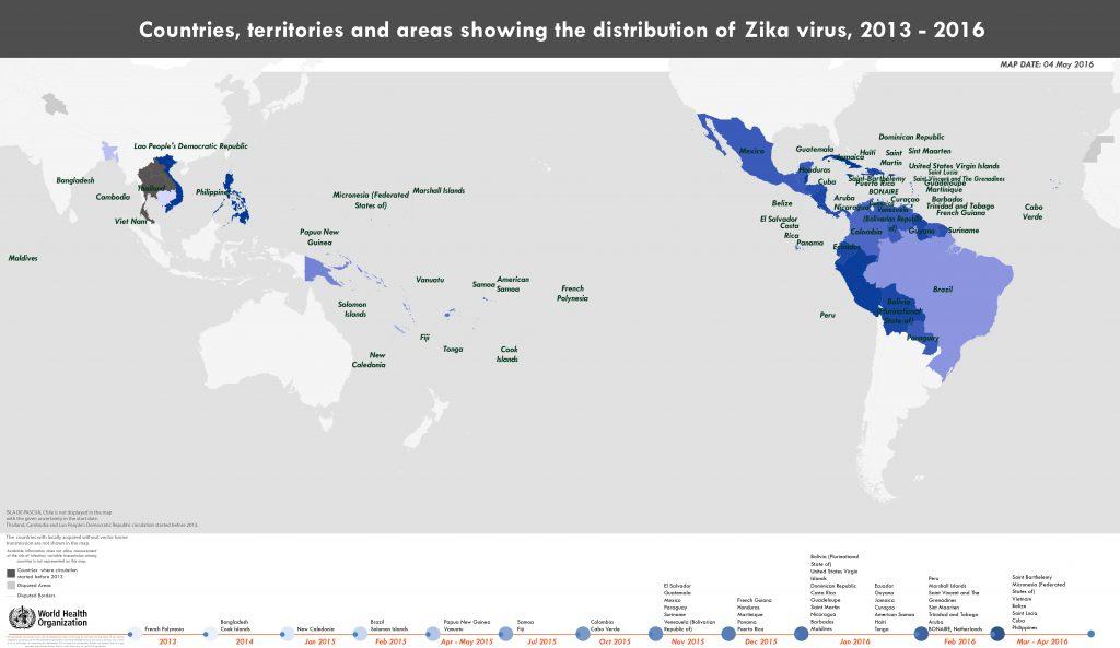 Cronología del zika